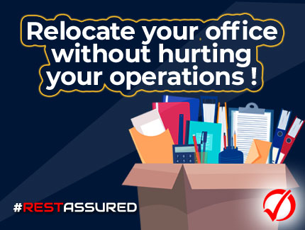 Office relocation at low cost